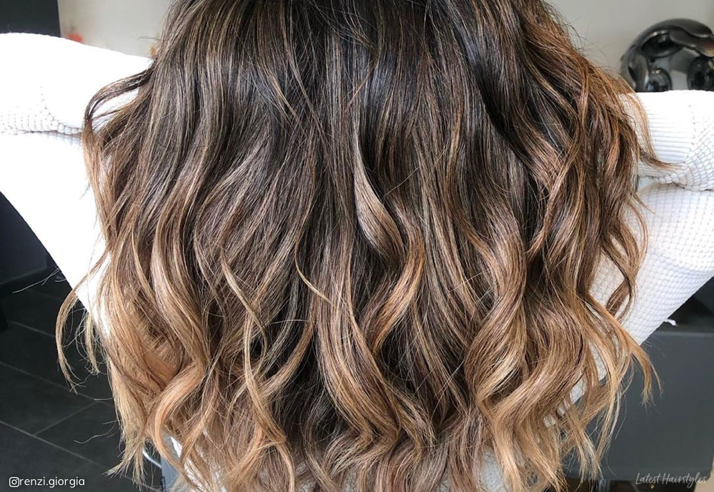 best-lowlights-for-brown-hair